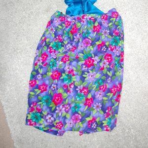 Liz Claiborne floral skirt size 6 P